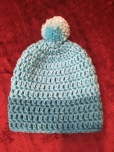 Newborn boy's hat
