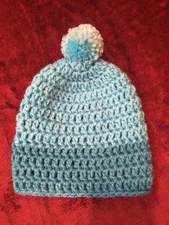 Newborn boy's hat